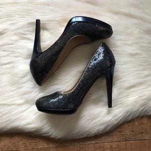 Cole Haan NikeAir Sequin Platforms